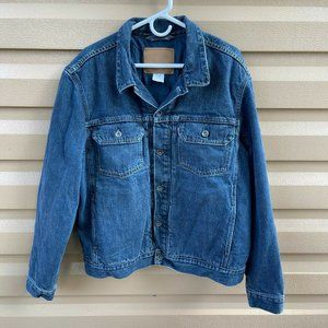 Vintage Levis Mens Blue Denim Jean Jacket Size XL
